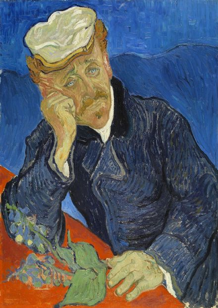 Van Gogh, Vincent: Dr Paul Gachet. Fine Art Print/Poster. Sizes: A4/A3/A2/A1 (003912)